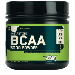 Medium instantized bcaa 5000 336 g optimum nutrition 1