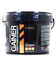 Medium new active whey gainer 197 med