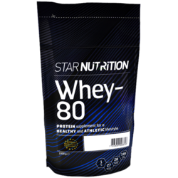 Medium whey 80 star nutrition 1