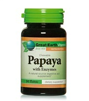 Medium papaya chewable med