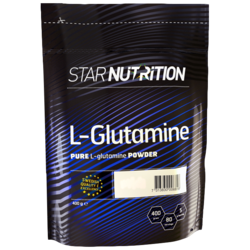 Medium l glutamine 400 g star nutrition 1