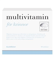 Medium multivitamin kvinnor 8113 med