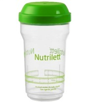 Medium shaker nutrilett med