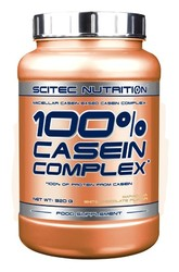 Medium scitec 100 casein complex 920g maracuja white chocolate
