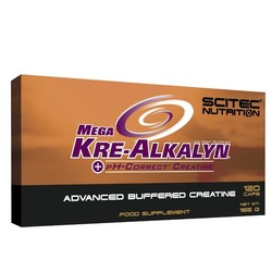 Medium scitec mega kre alkalyn 120caps blister