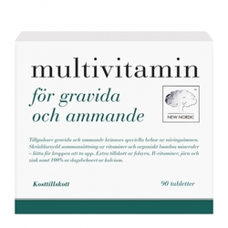 Medium new nordic multivitamin foer gravida och ammande 90 styck 108341 6384 143801 1 product
