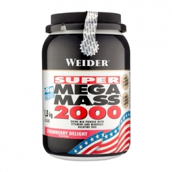 Medium weider mega mass 2000 jordgubb pulver 1500 g 7831 6545 1387 1 product
