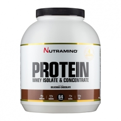 Medium nutramino whey protein chocolate 1800 g 103581 3198 185301 1 product