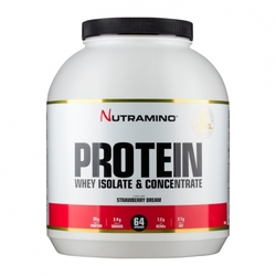 Medium nutramino whey protein strawberry 1800 g 103591 7198 195301 1 product