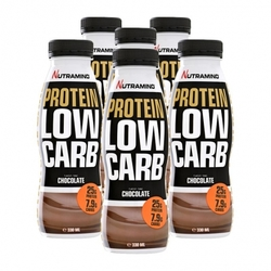 Medium 6 x nutramino protein low carb shake chocolate 6 x 300 ml 109811 3173 118901 1 product