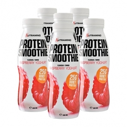 Medium 6 x nutramino protein smoothie raspberry 6 x 330 ml 109881 9173 188901 1 product