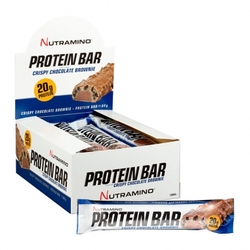 Medium 12 x nutramino proteinbar crispy chocolate brownie 12 x 64 g 115241 8620 142511 1 product