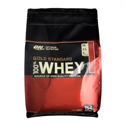Medium optimum nutrition 100 whey gold standard strawberry pulver 4545 g 116891 9740 198611 1 product