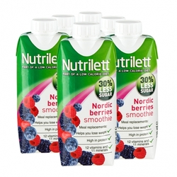 Medium 6 x nutrilett nordic berries less sugar smoothie 6 x 330 ml 127841 0106 148721 1 product