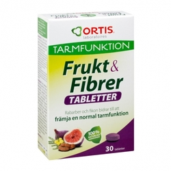 Medium ortis frukt fibrer tabletter 30 styck 139871 4800 178931 1 product