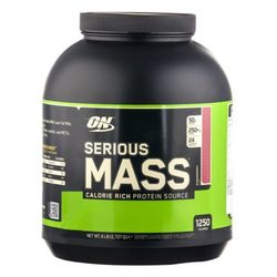Medium optimum nutrition serious mass strawberry pulver 2727 g 39131 7918 13193 1 product