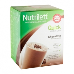 Medium nutrilett quick weight loss chocolate shake pulver 15 x 33 g 60571 4589 17506 1 product