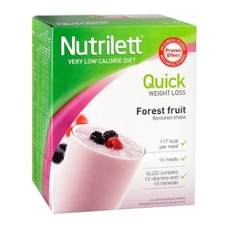 Medium nutrilett quick weight loss forest fruit shake pulver 15 x 33 g 60581 4789 18506 1 product