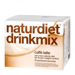 Medium naturdiet drinkmix caffe latte 15 portioner 82461 0110 16428 1 product