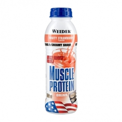 Medium weider muscle protein drink jordgubbe flaska 500 ml 84651 8441 15648 1 product