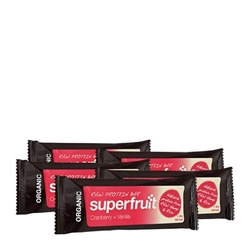 Medium 5 x superfruit raw protein bar tranbaer vanilj bar 5 x 50 g 86001 1367 10068 1 product