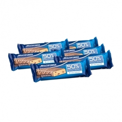 Medium 6 x multipower 50 protein bar cookies cream 6 x 50 g 89961 7851 16998 1 product