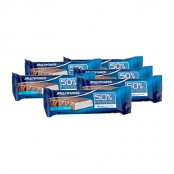 Medium 6 x multipower 50 protein bar kokos 6 x 50 g 89981 8851 18998 1 product