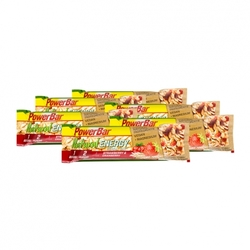 Medium 6 x powerbar natural energy cereal bar med jordgubb tranbaerssmak 6 x 40 g 90291 4021 19209 1 product