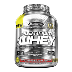 Medium muscletech platinum 100 whey 67 servings 1