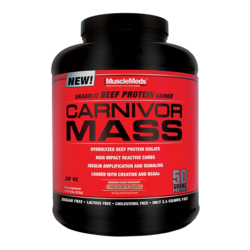 Medium musclemeds carnivor mass 14 servings 1
