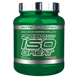 Medium scitec zero sugar  zero fat isogreat 2 lb 900g 1