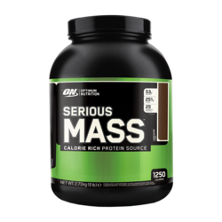 Medium optimum nutrition serious mass 6 lbs 2721g 1