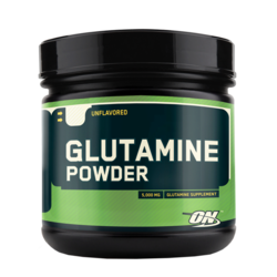 Medium optimum nutrition glutamine powder 630g eu 1