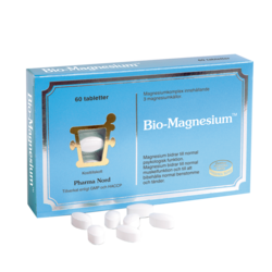Medium bio magnesium 60 tabletter pharma nord 1