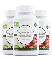 Medium nyponkapslar 3 pack 5791 med