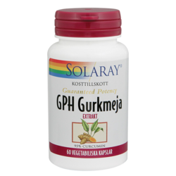 Medium solaray gph gurkmeja 60 tabletter solaray 1