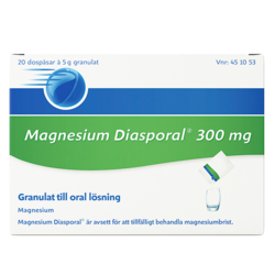 Medium magnesium diasporal 300 mg