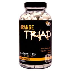 Medium controlled labs orange triad 270 tabs eu 1