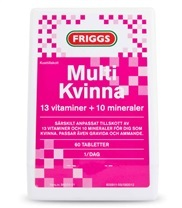 Medium multikvinna tabletter 3605 med