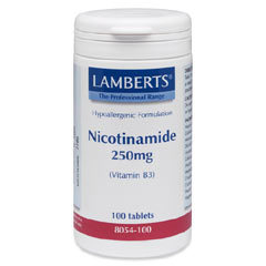 Medium vitamin b3 niacin nicotinamide 250mg 4