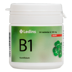 Medium b1 vitamin 100 mg ledins 1