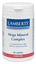 Medium mega multi multiple mineral complex supplements tablets 4