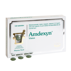 Medium amdexyn vision 120 tabletter pharma nord 1