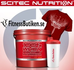 Medium scitec whey prof 5