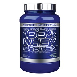 Medium scitec 100 whey protein 920g apple cinnamon 1