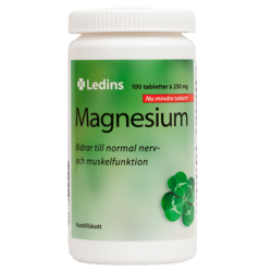 Medium magnesium 250 mg 100 st ledins 1