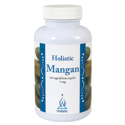 Medium mangan 100 vegetariska kapslar 5mg kapsel holistic 1