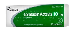 Medium loratadin actavis 10mg 28st