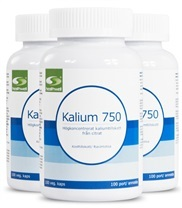 Medium kalium 750 3 pack 5783 med