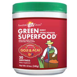 Medium amazing grass green superfood goji acai 240 gram amazing grass 1